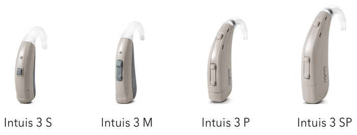 Intuis Siemens hdO-Hörgeräte